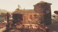 Raven Nest - player home in Solstheim at Skyrim Nexus - mods and community