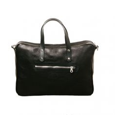 Bill Amberg Hunter Briefcase Black