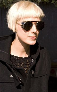 Agyness Deyn does Blade Runner with a striking Daryl Hannah inspired look