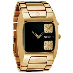 Nixon Banks All Gold Black Mens Watch A060510 NIXON. $322.53. Model: A060510. Dial color: black. Band color: gold. Condition:brand new with tags. Brand:Nixon