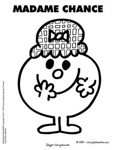 MADAME CHANCE Monsieur Madame, Rock Design, Silhouette Portrait, Little Miss, Art For Kids, Coloring Pages, Diy And Crafts, Creations, Garance