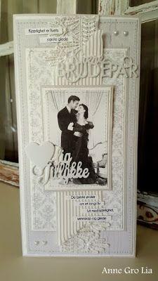min lille scrappe-verden: Bryllupskort (DT for Kort & Godt)