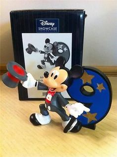Amazon.com - Disney Showcase Collection Mickey Mouse ...  |Mickey Mouse Birthday Figurines