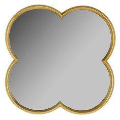 "Quatrefoil Mirror Gold Finish 23"" -Threshold™ : Target"