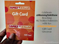 $50 My Family Dollar Giveaway ~ MommyTalkShow.com