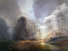 Kingdom in the Mist by Ferdinand Ladera