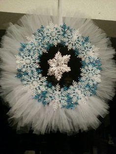 Tulle wreath