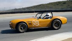 Lynn Park's Cobra in turn eleven Sunday morning. was owned and raced by Michael Goodwin, of Mickey Thompson fame, during the late Ac Cobra, Sunday Morning, Mazda, Photo Galleries, Racing, Park, Running, Auto Racing, Parks