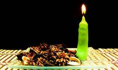 Zelf kaarsen maken van restjes