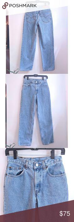 cc54d7335ea Vintage Levi's 550 Relaxed Fit Mid Rise Mom Jeans Vintage 80's/90's Orange  Tab Levi's
