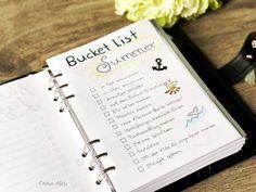 Bucket List Sommer