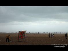 nice Foggy Marina Beach