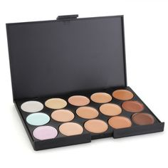 Concealer Abdeckcreme Camouflage Palette Cover Abdeck Makeup mit 15 Farben Mode | Your #1 Source for Beauty Products