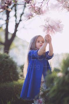 Magnolia, kids coats, flowers, kids fashion, blog, szafeczka.com