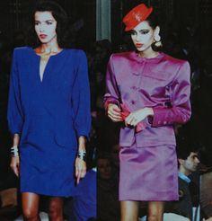 Janvier 1987. Haute couture été 1987. L Officiel 1000 modèles.