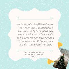 Design: Megan Myhren-Bennett #jodyhedlund #withyoualways #orphantrain http://jodyhedlund.com/books/with-you-always