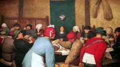 Pieter Bruegel the Elder's Peasant Wedding, c. 1566-69