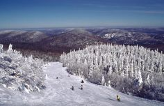 downhill skiing in quebec - hobby and travel- want to have time and money to ski more often