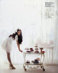 Girly Tea Party ~ Vogue Girl Korea March 2007