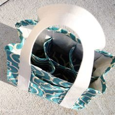 Water Bottle Tote PDF Pattern by Radiant Home Studio