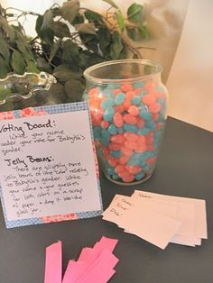Fun games to play at a gender reveal party