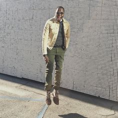 """Tow Away""    Canvas Jacket - @Gap Marina Sweater - @Zara_Worldwide Washed Shirt - @Jcrew Leather Belt - @AmericanEagle Military Trousers - @RalphLauren Boots - @SperryTopsider Time Piece - CitizenWatch"