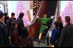 Elf escalator scene   @Crystal Chou Garrett