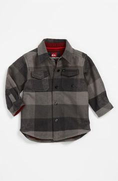 quiksilver coffee crusher bonded flannel shirt infant nordstrom