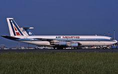 Boeing 707, Boeing Aircraft, Memphis, Aviation, Type, Air Ride