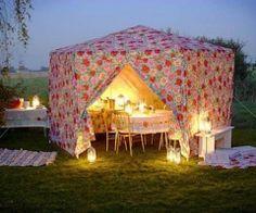Tent Tea Party