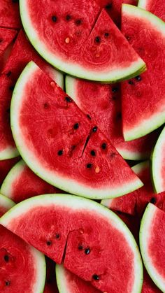 watermelon, wallpaper, and fruit image - Pretty Things, Pin Any Thing❤️ - Red Colour Wallpaper, Food Wallpaper, Summer Wallpaper, Colorful Wallpaper, Interior Wallpaper, Trendy Wallpaper, Wallpaper Desktop, Cellphone Wallpaper, Girl Wallpaper
