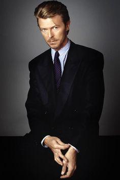 D.Bowie Scruffy Men In Suits