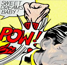 I Am A Mad Man... I Am A Bad Man... But What Are You?.. | One step 4wards... 2 step backwards... Incorporated... all Babylon's Shuffle... | Estimate $ I am a poor man... | Mon 23 Jan 8:09 am AEST | Sweet Dreams Baby!... | #roylichtenstein #moma #momaps1