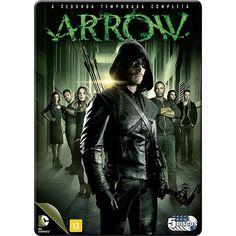 DVD - Arrow - A Segunda Temporada Completa (5 Discos)