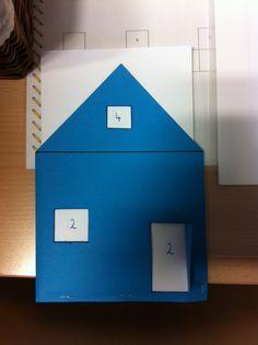 Splitshuisje  --> idee van materialenbeurs eerste leerjaar op school!