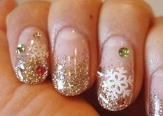 Winter: Snowflakes/ Clear x Gold, Stones
