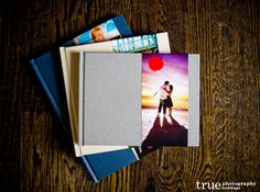 Showcase Your Engagement Photos in a Fine Art Book or Guestbook.
