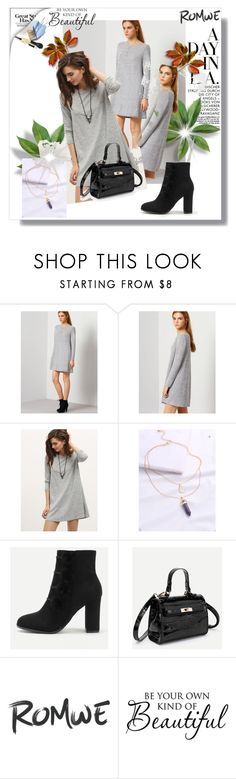 """""""Romwe 5/10"""" by mersy-123 ❤ liked on Polyvore featuring WALL"""