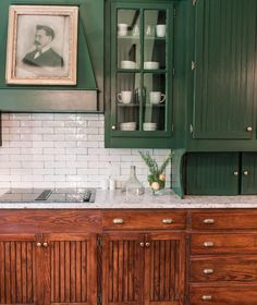 Mythical Solutions To Dark Green Kitchen Cabinets Paint Colors Subway Tiles Revealed 54
