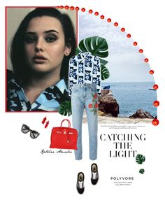 """""""C A T C H I N G  T H E  L I G H T"""" by katrine-amalie ❤ liked on Polyvore featuring Vans, Prada, Gucci and Hermès"""
