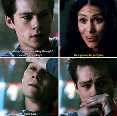 Teen Wolf Awww my poor baby, I love him so much and I hate when bad things happen in his life. He deserves the world. Dylan O'brien, Teen Wolf Dylan, Teen Wolf Stiles, Teen Wolf Cast, Teen Wolf Quotes, Teen Wolf Funny, Teen Wolf Memes, Tv Quotes, Stydia