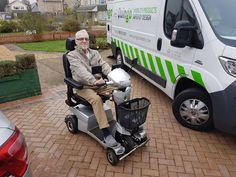Mr Shanks on his Vitess 2 mobility scooter find out which is right for you with a demo here http://contact.quingoscooters.com/social-mobility-scooters