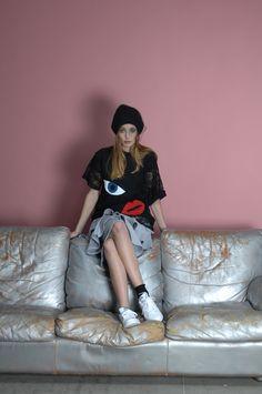 cappello SARHA - t-shirt AMANDA - gonna GINGER/felpa