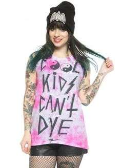 Social Decay Cool Kids Shibori Muscle Tee, £34.99