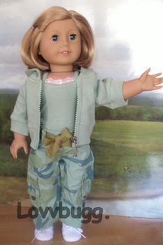 Camouflage Pants Set Doll Clothes Fits American Girl Great Selection Prices | eBay