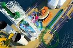 The waterslide on the Carnival Spirit.  I'll be seeing/doing this in May....