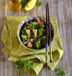 Wok de tofu aux brocolis - Ôdélices : Recettes de cuisine faciles et originales !