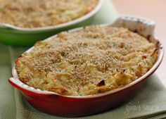 Skinny Artichoke Dip - Your unsuspecting guests will have no idea they are indulging in lightened up party fare.