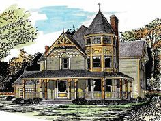 Victorian House Plan with 2034 Square Feet and 3 Bedrooms from Dream Home Source…