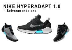 Nike HyperAdapt selvsnørende sko, som i Tilbage til fremtiden. #Nike #HyperAdapt #shoe #sko #Marty #McFly #backtothefuture #snørende
